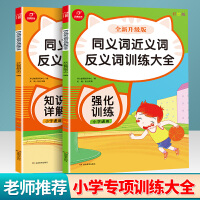 开心教育 同义词近义词反义词训练大全 知识详解 全新升级版