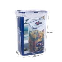 乐扣乐扣保鲜盒塑料储物盒HPL809 1.3L微波餐盒饭盒便当盒 透明