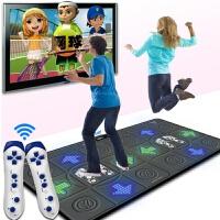 魔性跳舞毯电视专用双人电视接口电脑两用发光按摩跳舞机家用体感游戏机