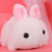 六一儿童节520韩国可爱垂耳兔毛绒玩具兔子娃娃公仔玩偶抱枕生日礼物女孩送女友520礼物母亲节 趴款