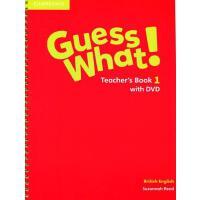 剑桥少儿英语教材 Guess What! Level 1 Teacher's Book with DVD 教师用书带DVD