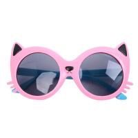 儿童眼镜墨镜太阳镜潮女童男童宝宝可爱防紫外线演出眼镜框