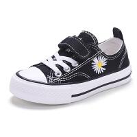儿童帆布鞋小雏菊0春夏透气网面男童鞋子女童布鞋