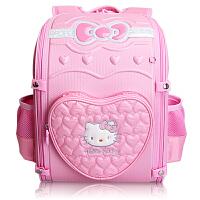Hello Kitty凯蒂猫 KT1008粉红 韩版小学生书包女童EVA背包 当当自营