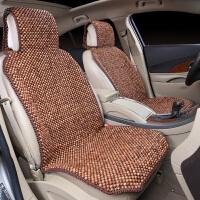 鸡翅木木珠汽车坐垫四季通用单片宝马大众夏季透气车用珠子座垫