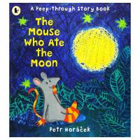 【预订】The Mouse Who Ate the Moon 吃了月亮的老鼠 英文原版儿童绘本