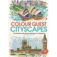 预订Colour Quest (R) Cityscapes:30 Extreme Colouring Challenge