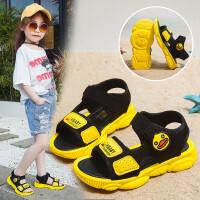 男童沙滩鞋儿童凉鞋女童鞋2019夏季新款小孩子中大童宝宝软底鞋