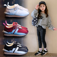 女童�\�有�秋季童鞋�和�休�e鞋男童�底�p便�W生鞋中大童