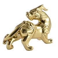 全铜貔貅摆件 客厅办公室桌面摆设家居装饰品风水镇宅 全铜貔貅