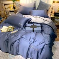 【好货】网红款夏季冰丝天丝床上四件套欧式床单被套裸睡亲肤丝滑夏天