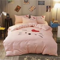 床单四件套被套床上少女个性情侣x定制