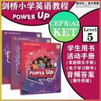 剑桥小学英语教材 Power Up Level 5 学生套装[学生书+练习册+娱乐手册(共3册)]