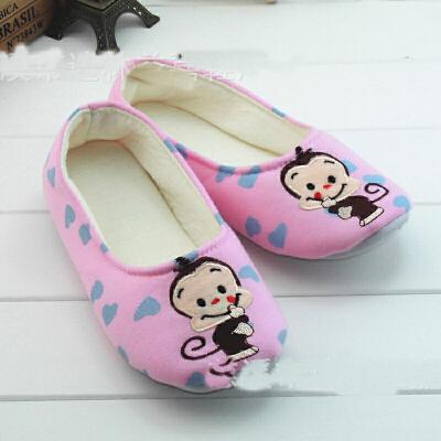 月子鞋春夏秋款孕妇鞋 包跟防滑平底鞋 春秋产妇软底鞋 HJJ09