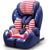 儿童安全座椅汽车用婴儿宝宝车载简易9个月-12岁便携0-4档3isofix