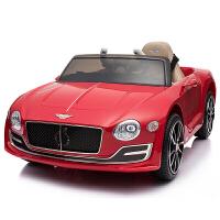 宾利儿童电动车小汽车四轮男孩女孩1-5岁充电玩具可坐人遥控童车zf10