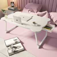 床上小桌子电脑桌简约可折叠宿舍大学生上铺书桌飘窗卧室坐地租房