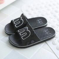 韩版女士拖鞋夏可爱男女室内房间软底洗澡女款凉拖鞋家用
