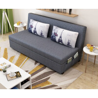 【品牌特惠】简约沙发床 小户型简单沙发 出租房沙发 布艺小沙发 可折叠两用 1.8米-2米