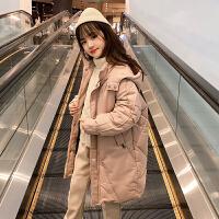 2019年秋冬季新款加厚韩版外套洋气棉袄童装女童冬装棉衣
