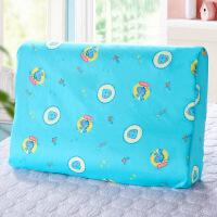 儿童枕套全棉纯棉卡通30504060记忆枕套乳胶枕套高低定制