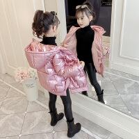 韩版洋气棉衣外套2019冬季新款童装女童小女孩冬装棉袄
