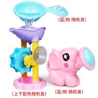 宝宝戏水玩具喷水大象花洒 儿童婴幼儿女孩男孩浴室洗澡戏水套装 大象花洒水车三件套