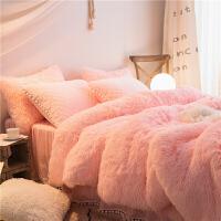 冬季珊瑚绒四件套双面绒法莱绒公主风加厚保暖床裙夹棉床裙款床品定制