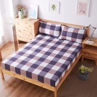 床笠单件床罩席梦思保护套床裙防尘罩床垫套1.8m卡通防滑罩床单