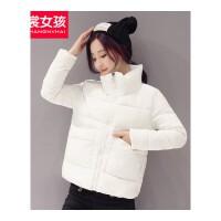 反季棉衣女新款韩版冬装小棉袄女士短款面包服冬季外套女