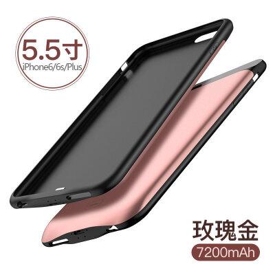 苹果背夹充电宝 iPhone6电池6Plus便携6s背夹式充电手机壳专用6P冲移动电源6sp轻薄 发货周期:一般在付款后2-90天左右发货,具体发货时间请以与客服协商的时间为准