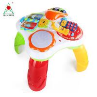儿童玩具群兴益智玩具多功能趣味学习桌婴幼0-3岁宝宝婴早教音乐游戏礼物