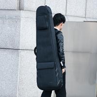 电吉他包新款时尚加厚舞龙牛津面料电吉它袋电贝司贝斯套双肩背包