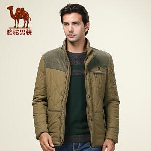 骆驼男装 新款棉服 男士棉服