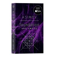 银河帝国 基地基金会和帝国 Foundation and Empire 艾西莫夫科幻小说 英文原版进口书籍