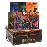 [现货]哈利波特英文原版进口小说Harry Potter Boxset 1-7豪华珍纪念收藏版*全集正版科幻小说内附神