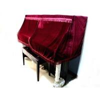 支持货到付款-钢琴 钢琴配件 红色 钢琴罩 钢琴套 钢琴披 钢琴盖(半披)GQZ-002 金丝绒标准钢琴罩,一般型号钢