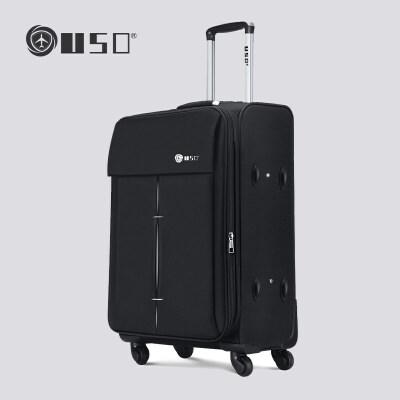 【支持礼品卡支付】OSDY品牌旅行箱 EVA777-24寸万向轮拉杆箱 经典软箱 尼龙 旅行登机行李箱托运箱 可扩展容量可拓展容量,出行无忧