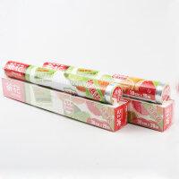 茶花一次性保鲜膜厨房切割盒巧撕水果食品微波炉保鲜膜3323P