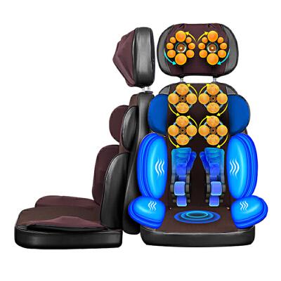 凯仕乐(国际品牌) 家用按摩垫 全自动揉捏包裹振动按摩器 KSR-J199升级版 全背行走捶打机械手 颈肩腰臀同步按摩