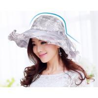 帽子女夏天遮阳帽防晒可折叠太阳帽女士夏季沙滩帽女凉帽