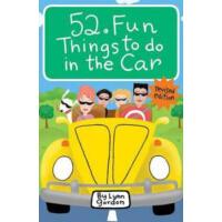 52 Fun Things to Do in the Car 52种活动:在车上做的有趣的事情[卡片] IBSN978