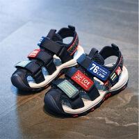 2019夏季新款韩版男童凉鞋男孩童鞋包头凉鞋儿童沙滩鞋