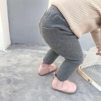 婴童装秋冬装2岁女童保暖裤加绒加厚宝宝打底裤婴儿长裤