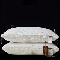 白鹅绒单人枕芯羽绒枕头助睡眠t定制
