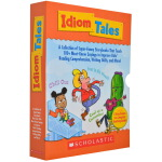 Scholastic Idiom Tales 学乐成语故事 8册礼盒装 英文原版 家长手册 习语惯用语