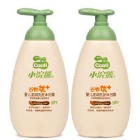 【送同款一瓶】小浣熊沐浴洗发二合一谷物精华温和无泪300ml