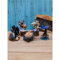 宫崎骏系列手办模型可爱龙猫哈尔的移动城堡千与千寻动画公仔摆件