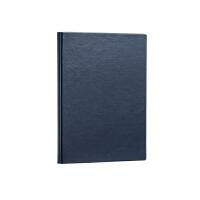 得力(deli) 3186 笔记本文具皮面商务记事本A5本子160页加厚办公笔记本 蓝色 当当自营