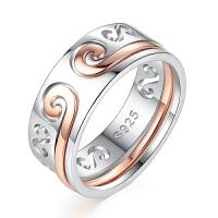抖音同款紧箍咒戒指情侣对戒银一对男女孙悟空金箍宝二合一